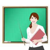 Teacher — Vector de stock