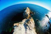 Ocean and sea cliffs — Stock Photo