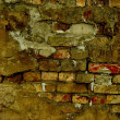 Photo: Grunge brick background wall