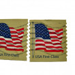 Postage stamp printed in USA  — Stock Photo
