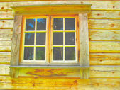 Window of house — Stock Photo