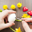 Painting Easter Egg — Stock Photo #22497047