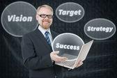 Chave para o sucesso — Foto Stock