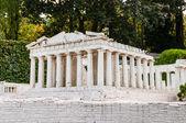 Detailed miniature model of Parthenon in Acropolis, Athens — Stock Photo