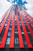 ROTTERDAM - AUGUST 7: Modern residential tower on august 7, 2011 — Stock Photo