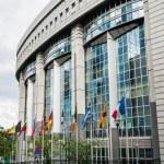 European Parliament in Brussels, Belgium — Stock Photo