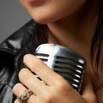 Female Singer — Stock Photo #22016957
