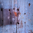 Old wooden door texture — Stock Photo