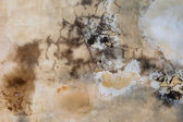 Inked Brown Grunge Wall Texture — Stock Photo