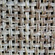 Wicker Chair Back - Stock Photo
