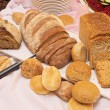Bread on a table - Stock Photo