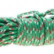 Green nylon rope — Stock Photo #22098053