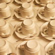 Cups and saucers — Stock Photo #22098297