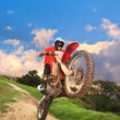 Stock Photo: Offroad Bike
