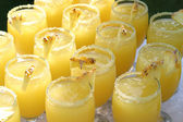 Pineapple coctails — Stock Photo