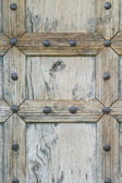 Morrocan hand made door — Stock Photo