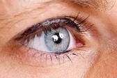 Olho azul — Fotografia Stock