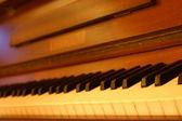 Stary fortepian — Zdjęcie stockowe