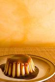 Budyń creme karmel — Zdjęcie stockowe