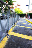 Parking barrier — Stock Photo