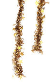 Christmas tinsel decoration — Stock Photo