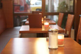 Table of a restaurant — Stock Photo