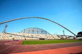 Khalifa sports stadium in Doha, Qatar — Stock Photo