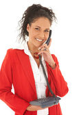 Young adult Caucasian businesswoman — Stock Photo
