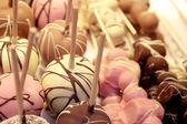 Schokolade-saugnäpfe — Stockfoto