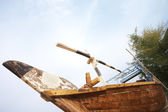 Traditional fishing Dhow — Stock Photo