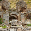 The old ruins of the city of Ephesus in modern day Turkey — Stock Photo #22103289