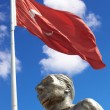 Monument of Ataturk and Youth, Kusadasi, Turkey — Stock Photo #22103445