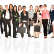 A group of young modern businesswomen — Stock Photo