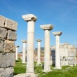 The ruins of the st. Johns Basilica - Foto Stock
