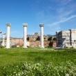 The ruins of the st. Johns Basilica, Turkey. - Stock Photo