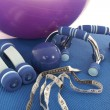 Fitness equipment — Stockfoto