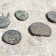 Roman Coins — Stock Photo