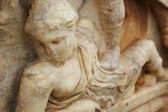 Decorated graves in the old ruins of the city of Ephesus in modern day Turkey — ストック写真