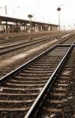 Dworca kolejowego w neurenburg, niemcy — Zdjęcie stockowe