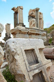 The old ruins of the city of Ephesus in modern day Turkey — Stok fotoğraf