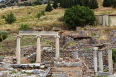 The old ruins of the city of Ephesus in modern day Turkey — Photo