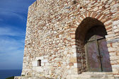 Main entry of the Pigeon Island Fortress — Stock Photo