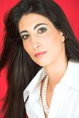 Beautiful young adult Italian woman — Stock Photo