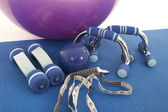 Fitness equipment — Stock Photo