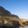 Rocky Beach, Bettys bay in Western Cape, South Africa — Stock Photo #22110225