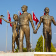 Monument of Ataturk and Youth, Kusadasi, Turkey — Stock Photo