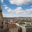 The Vienna Skyline - Foto Stock