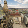The Vienna Skyline  — Stock Photo