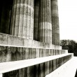 Pillars in Regensburg — Stock Photo