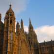 The buildings of the House of Parliament — Stock Photo